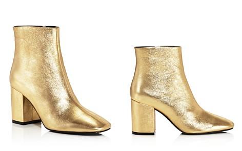 Anine Bing Women's Jane Leather Block Heel Booties - Bloomingdale's_2
