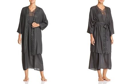 Hanro Liane Woven Viscose Short Kimono Robe & Caftan - Bloomingdale's_2