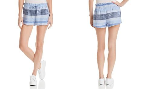 Bella Dahl Striped Drawstring Woven Shorts - Bloomingdale's_2