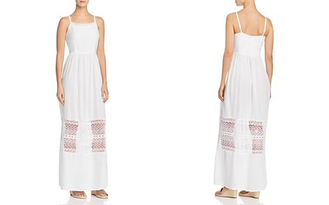 AQUA Lace-Inset Maxi Dress - 100% Exclusive - Bloomingdale's_2