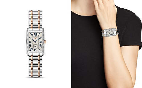 Longines DolceVita Diamond Two-Tone Watch, 20.5mm - Bloomingdale's_2