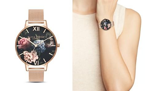 Olivia Burton Dark Bouquet Watch, 38mm - Bloomingdale's_2