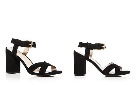 Cole Haan Women's Kadi Suede Crisscross Block Heel Sandals - Bloomingdale's_2