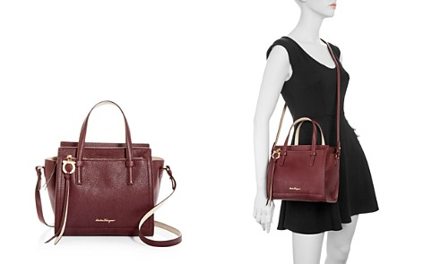 Salvatore Ferragamo New Amy Small Pebbled Leather Crossbody - Bloomingdale's_2