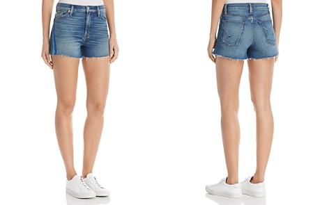 Hudson Sade Cutoff Denim Shorts in Sitting Pretty - Bloomingdale's_2