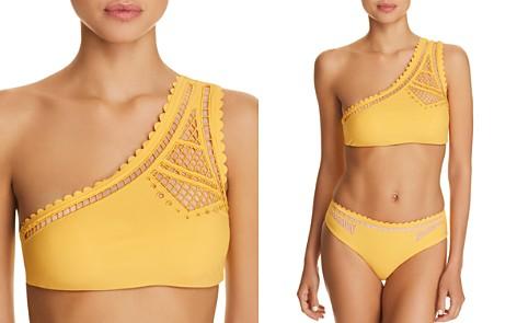 Red Carter Peek-A-Boo One Shoulder Bikini Top - Bloomingdale's_2