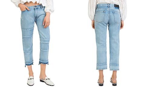 The Kooples Paneled Step-Hem Jeans - Bloomingdale's_2