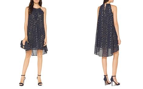 MICHAEL Michael Kors Chain Neck Metallic Print Dress - Bloomingdale's_2