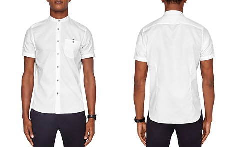 Ted Baker Gowntay Waffle Regular Fit Button-Down Shirt - Bloomingdale's_2