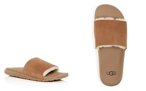 UGG® Men's Xavier Twin Face Shearling Slide Sandals - Bloomingdale's_2