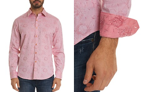 Robert Graham Gilberts Floral Regular Fit Button-Down Shirt - Bloomingdale's_2