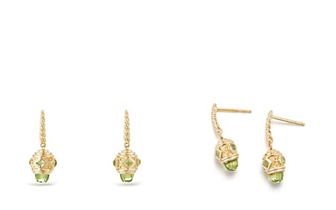 David Yurman Renaissance Drop Earrings with Peridot in 18K Gold - Bloomingdale's_2