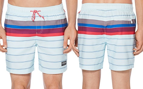 Original Penguin Engineered Stripe Swim Trunks - Bloomingdale's_2