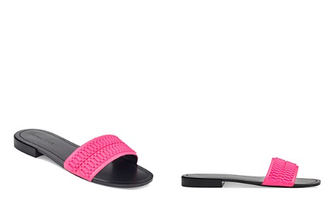 KENDALL and KYLIE Women's Kennedy Embellished Leather Slide Sandals - Bloomingdale's_2