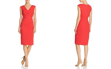 Adrianna Papell Ruched Sheath Dress - Bloomingdale's_2