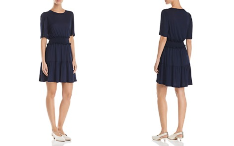 Rebecca Taylor Smocked Jersey Dress - Bloomingdale's_2