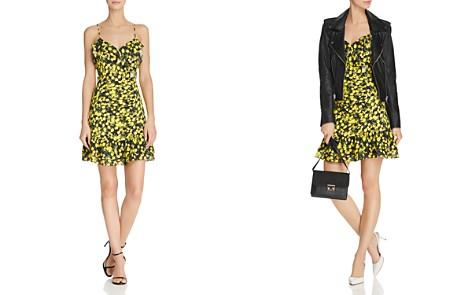 Parker Erica Ruffled Lemon-Print Dress - Bloomingdale's_2