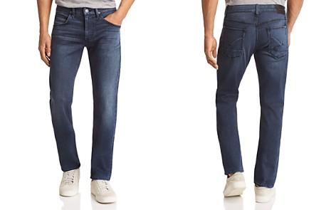 Hudson Blake Slim Straight Fit Jeans in Loma - Bloomingdale's_2