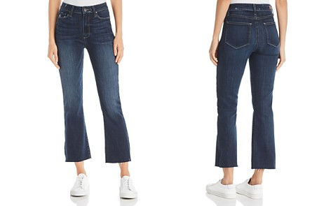 PAIGE Colette Crop Flare Jeans in Anza - Bloomingdale's_2
