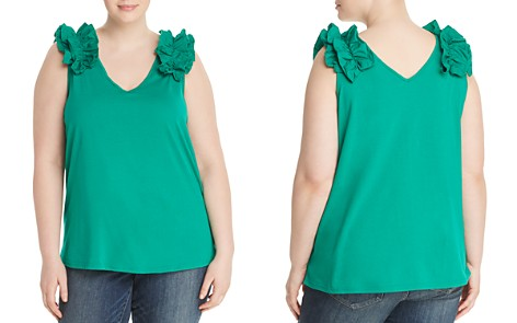 JUNAROSE Plus Elavia Ruffle Shoulder Top - Bloomingdale's_2