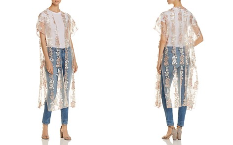 Billy T Embroidered Mesh Duster Kimono - Bloomingdale's_2