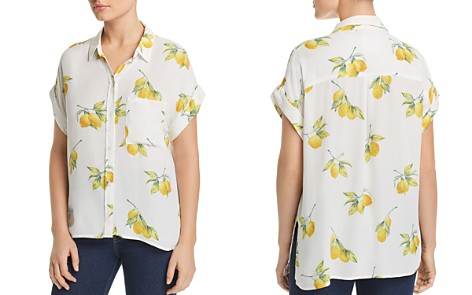 Rails Whitney Lemon Print Shirt - Bloomingdale's_2