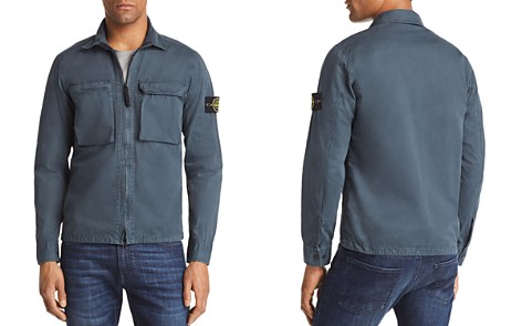 Stone Island Zip Shirt Jacket - Bloomingdale's_2