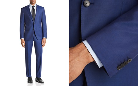 BOSS Huge/Genius Slim Fit Twill Solid Suit - Bloomingdale's_2