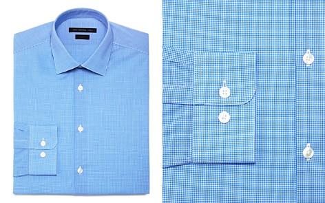John Varvatos Star USA Micro Check Regular Fit Dress Shirt - Bloomingdale's_2