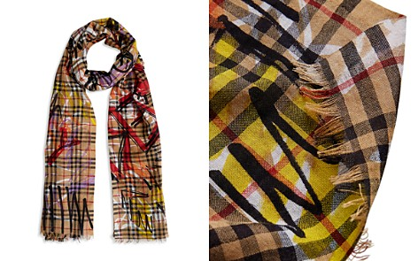 Burberry Marker Printed Vintage Check Gauze Scarf - Bloomingdale's_2
