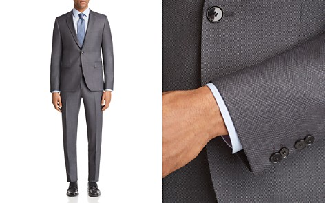 HUGO Astian/Hets Slim Fit Birdseye Suit Separates - Bloomingdale's_2