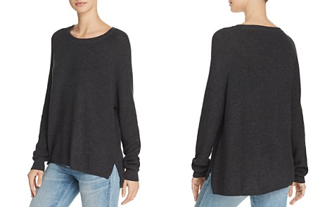 Minnie Rose Shaker Stitch High/Low Sweater - Bloomingdale's_2