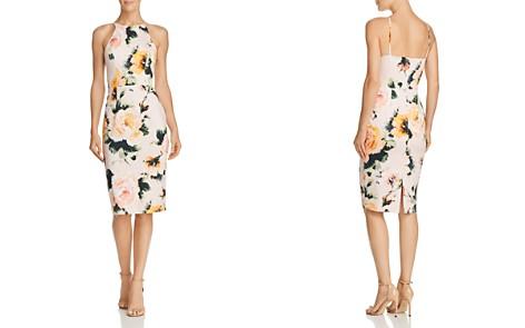 Black Halo Montego Floral Sheath Dress - Bloomingdale's_2