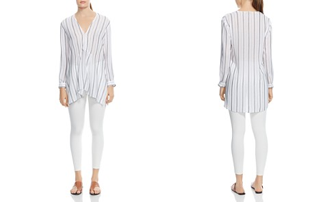 HALSTON HERITAGE Oversized Striped Tunic - Bloomingdale's_2
