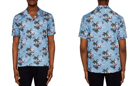Ted Baker Bliss Tropical Pattern Regular Fit Button-Down Shirt - Bloomingdale's_2