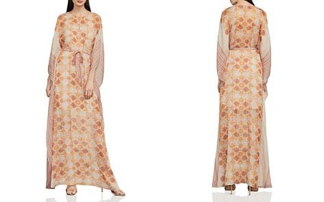 BCBGMAXAZRIA Gael Tile Print Maxi Dress - Bloomingdale's_2