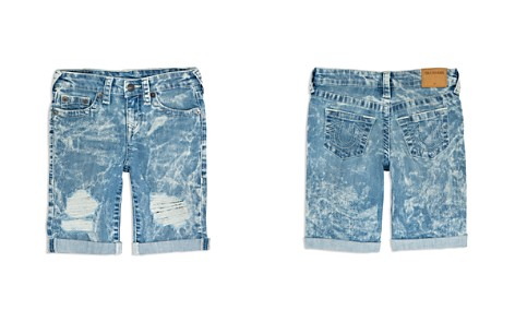 True Religion Boys' Distressed Geno Shorts - Little Kid, Big Kid - Bloomingdale's_2