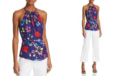 Parker Jill Tie-Waist Floral-Print Top - Bloomingdale's_2