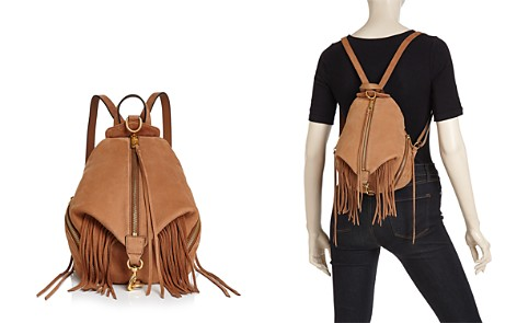 Rebecca Minkoff Julian Fringe Medium Nubuck Leather Backpack - Bloomingdale's_2