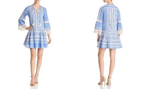 Tory Burch Gabriella Embroidered Striped Dress - Bloomingdale's_2
