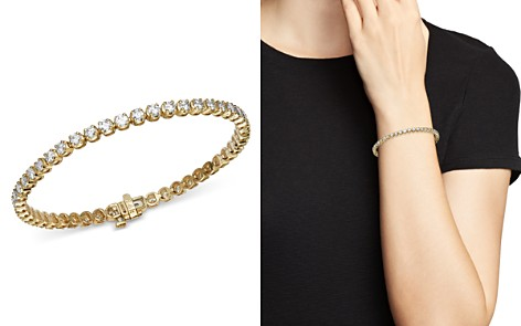Bloomingdale's Diamond Tennis Bracelet in 14K Yellow Gold, 4.0 ct. t.w. - 100% Exclusive_2