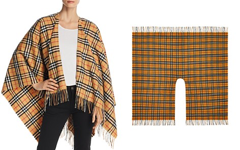 Burberry Vintage Check Cape - Bloomingdale's_2