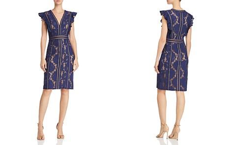 Tadashi Shoji Ruffled Lace Dress - Bloomingdale's_2