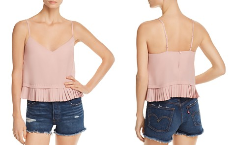 FRENCH CONNECTION Pleated Peplum Cami - Bloomingdale's_2
