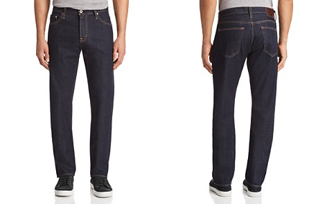 AG The Ives Athletic Straight Fit Jeans in Highway - Bloomingdale's_2
