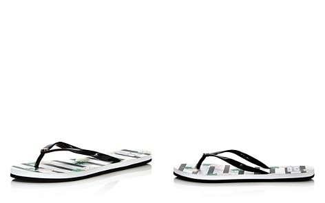 kate spade new york Women's Nassau Shiny Flip-Flops - Bloomingdale's_2