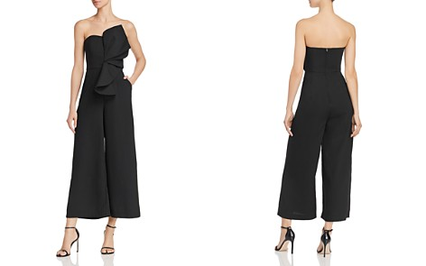 Keepsake Love Light Strapless Ruffle-Accented Jumpsuit - 100% Exclusive - Bloomingdale's_2