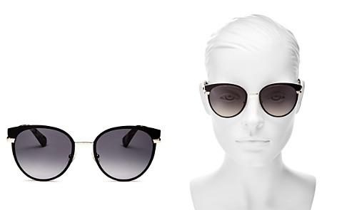 kate spade new york Women's Janalee Round Sunglasses, 53mm - Bloomingdale's_2