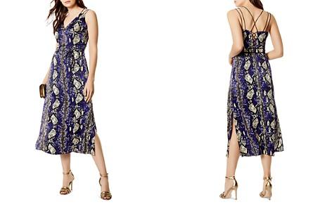 KAREN MILLEN Snake Print Strappy Silk Dress - Bloomingdale's_2