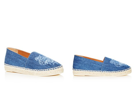 Kenzo Women's Classic Tiger Embroidered Denim Espadrille Flats - Bloomingdale's_2